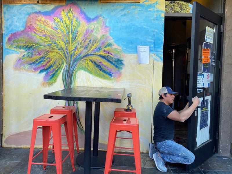 At Hawker Fare, art and food