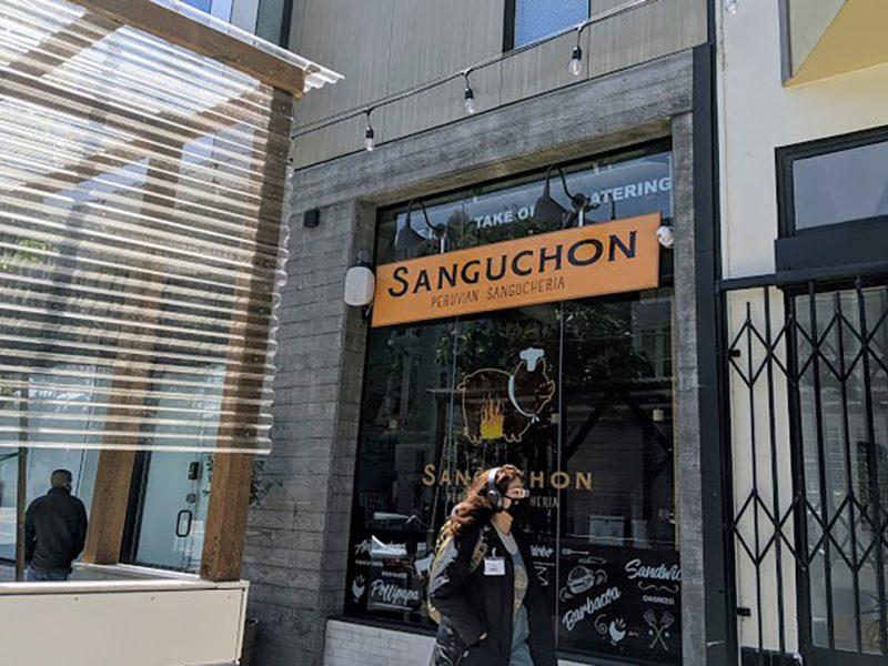 Sanguchon exterior