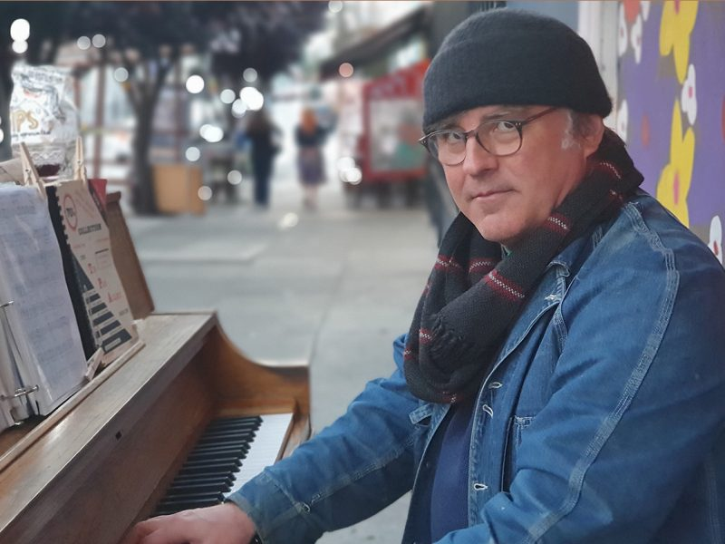 Marc Capelle. Piano. Music. Performing. Royal Cuckoo Market. 19th Street.