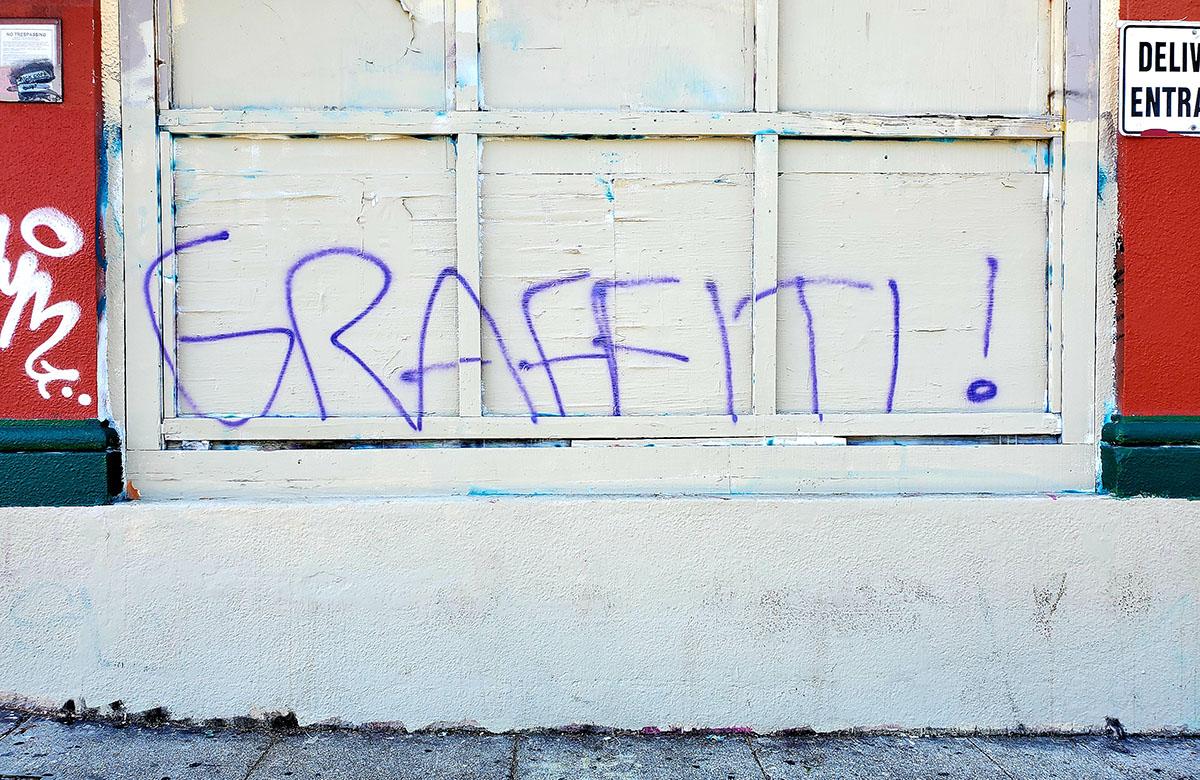 Graffiti on 16th Street