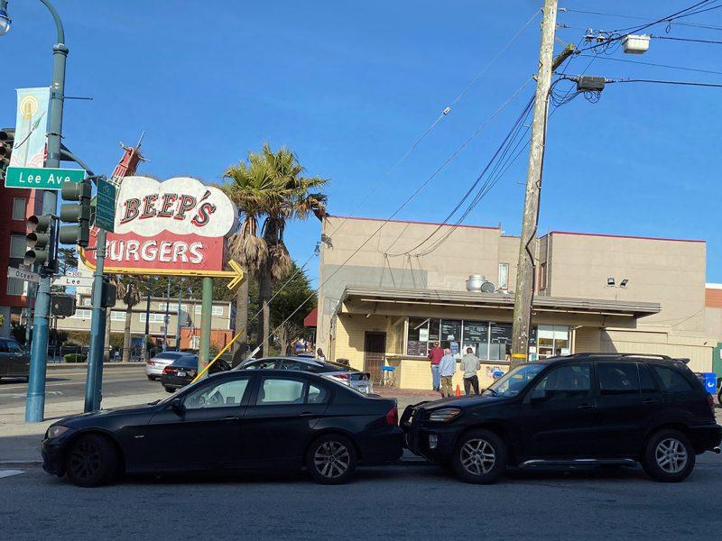 Beep's burger