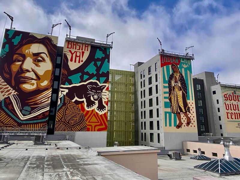 Murals of Yolanda López