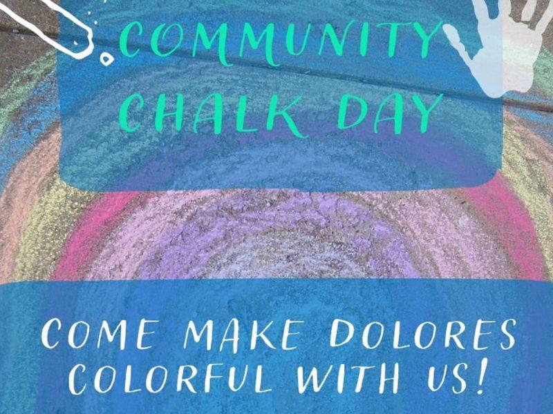 Community Chalk Day. Dolores Park.