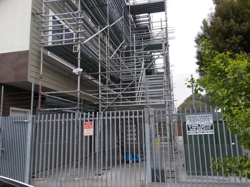 2867 San Bruno scaffolding Bernie Curran Department of Building Inspection