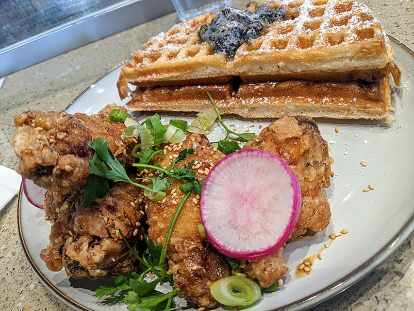 Alnico Korean Chicken & Waffles