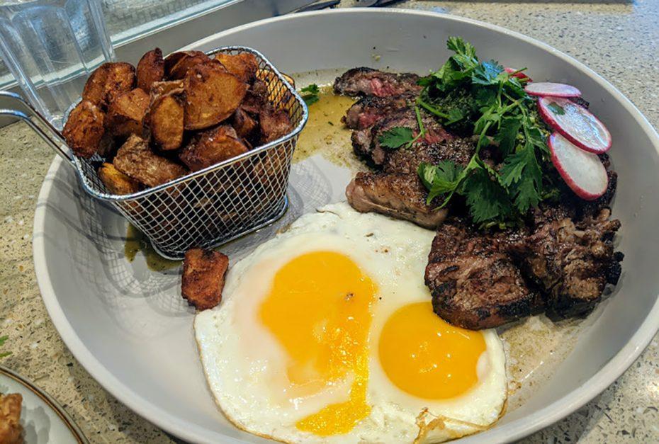 Alnico Steak & Eggs