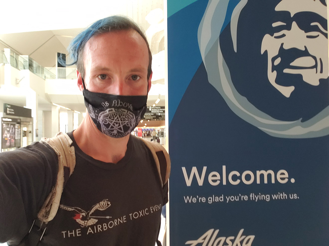 Dennis Ferry, McGee Air Services, Alaska Airlines, SFO, San Francisco International Airport, protest