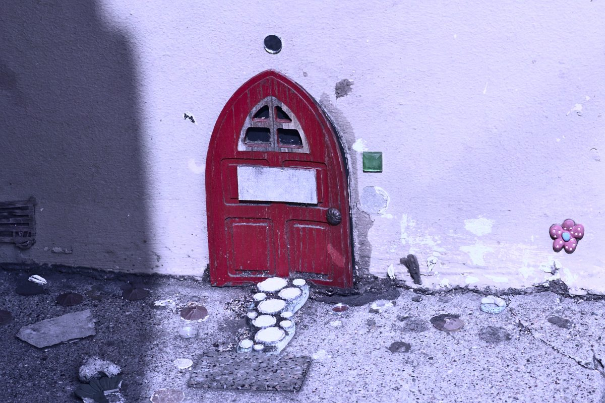 Small door on 30th between Church and Dolores.