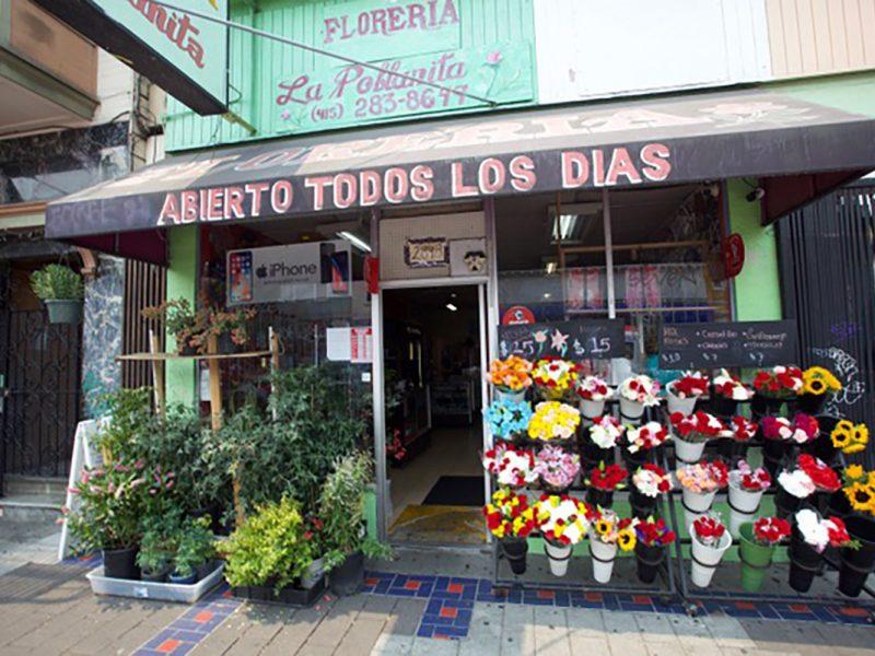 Flower Shop on Mission Street
