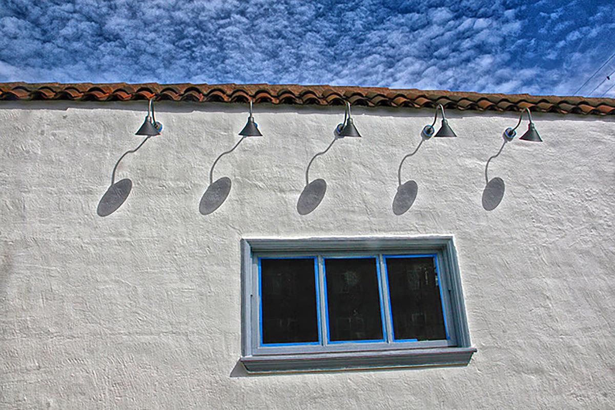 Lamps on Guerrero Street