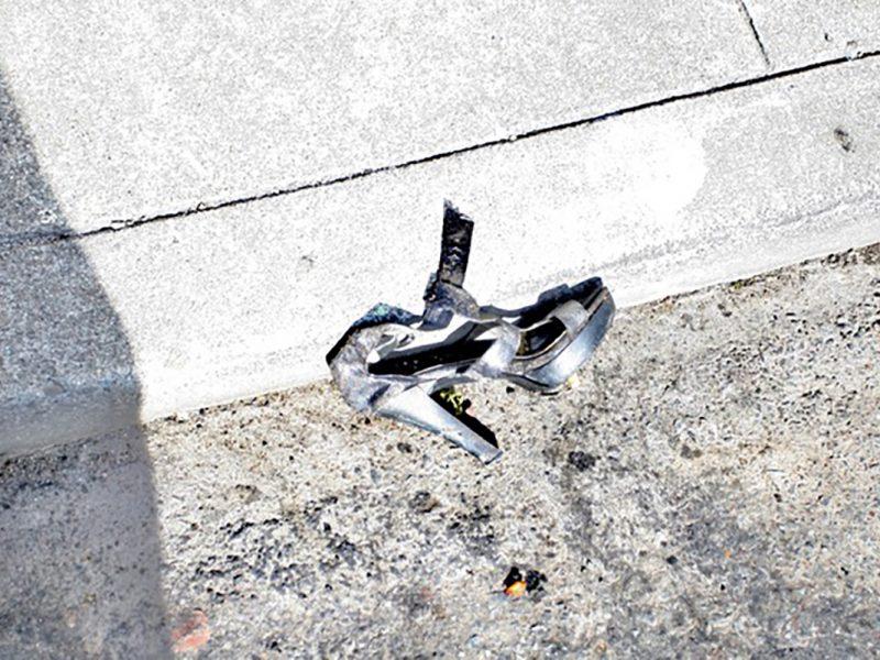 shoe on Bartlett