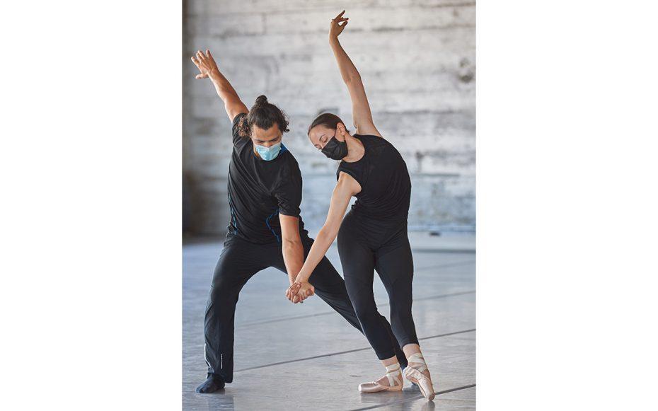 Kelsey McFalls and Joseph Hern. Photo by David DeSilva