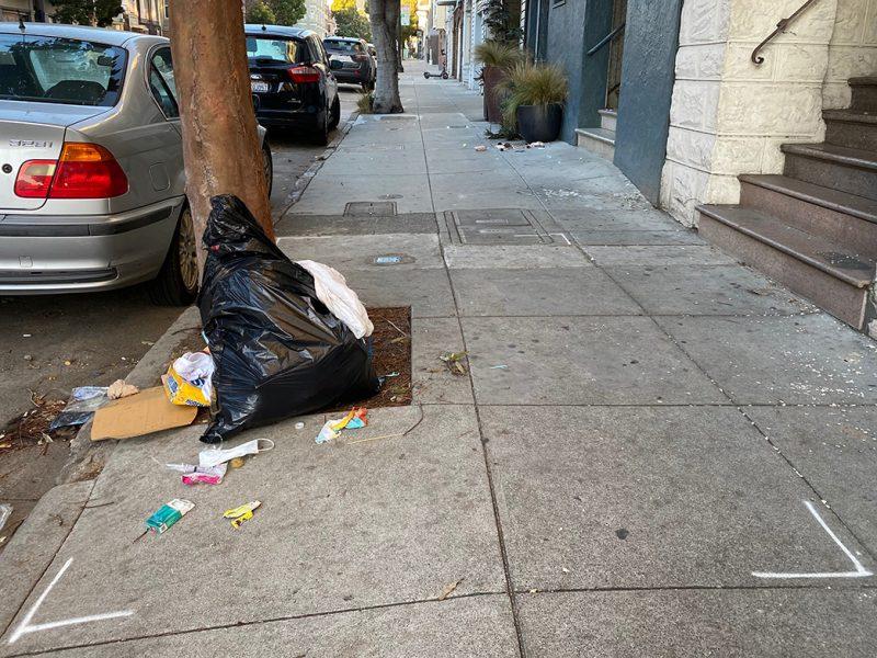 Trash on 17th Street