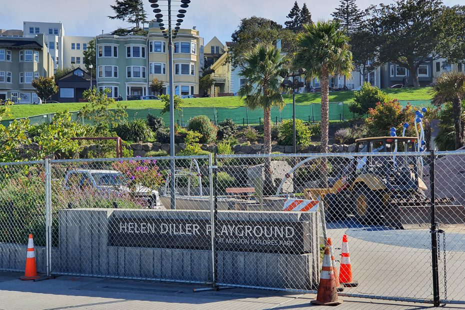 Helen Diller Playground. Dolores Park.