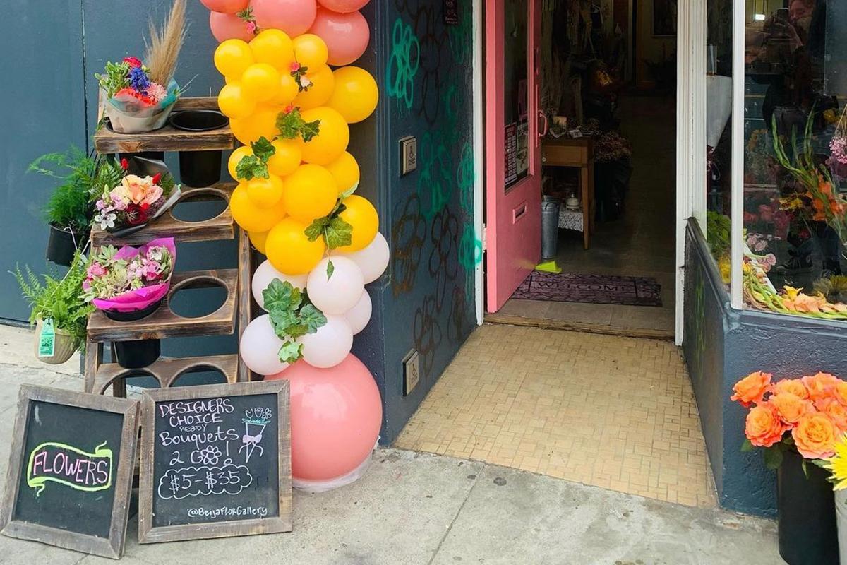 Beija Flor Gallery. Mission Street. Excelsior.