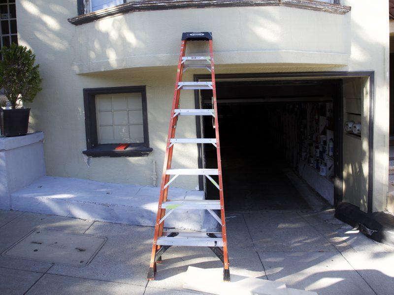 Ladder on 21st Street
