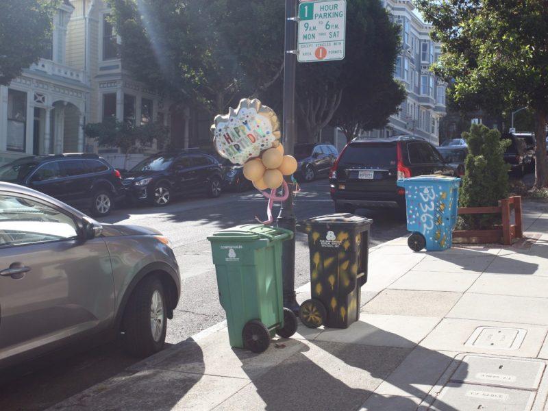 Balloons on 20th Street